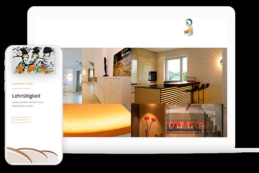 Webdesign Work lichtundraum