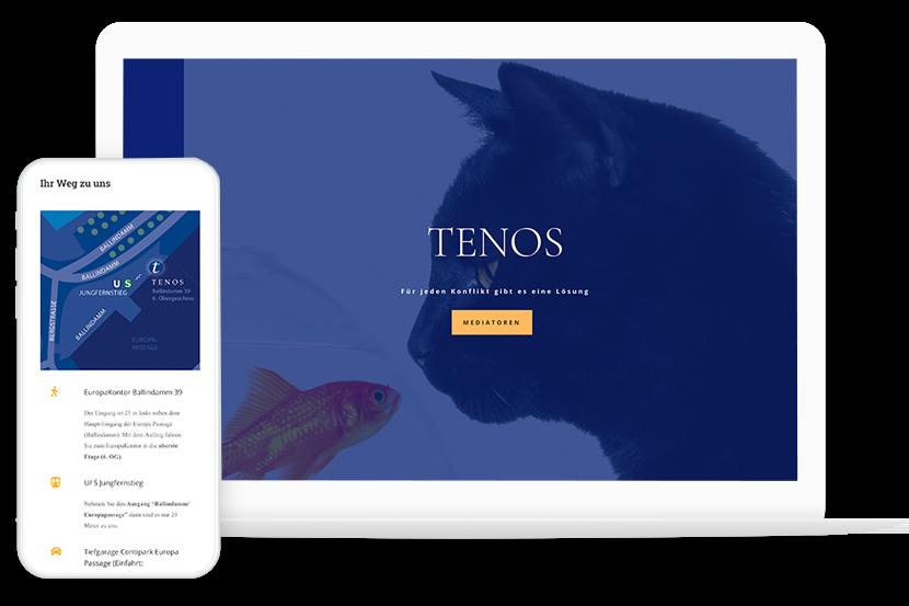 Webdesign Work Tenos