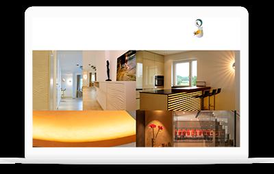 Webprojekt Licht und Raum